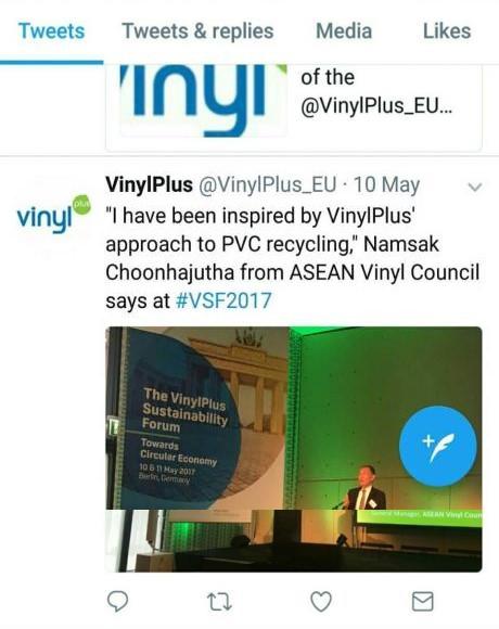 VinylPlus twitter